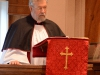 Fr. Guy delivers the sermon