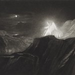 """Paradise Lost: Angels Guarding Paradise"" by John Martin"