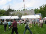 Garden Party maypole