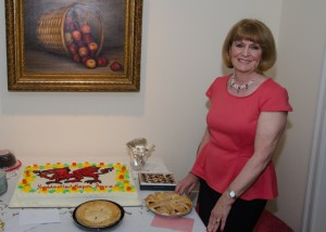 Anne Hawkins at her Retirement Party