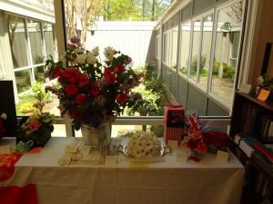 Flower Show entrants