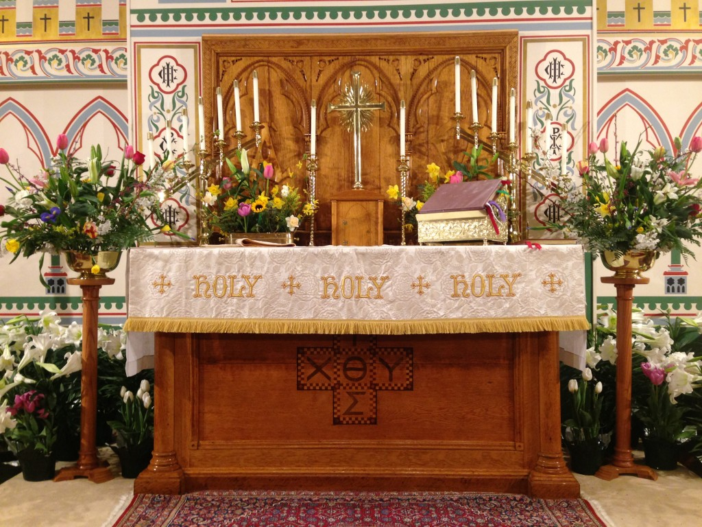 Easter Altar 2014