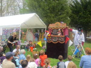 Dr Horn's Punch & Judy Show at the 2014 British Garden Party & Fête. Photo courtesy Desperate English Housewife In Washington