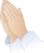 praying hands small