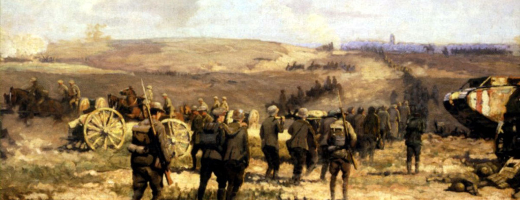 8th August 1918 by Will Longstaff