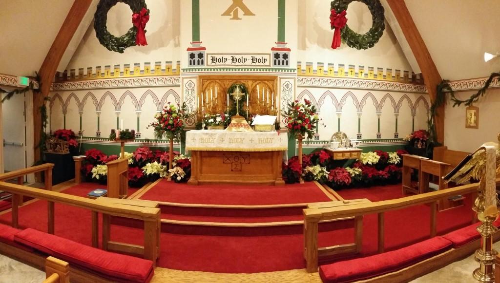 chancel on christmas eve