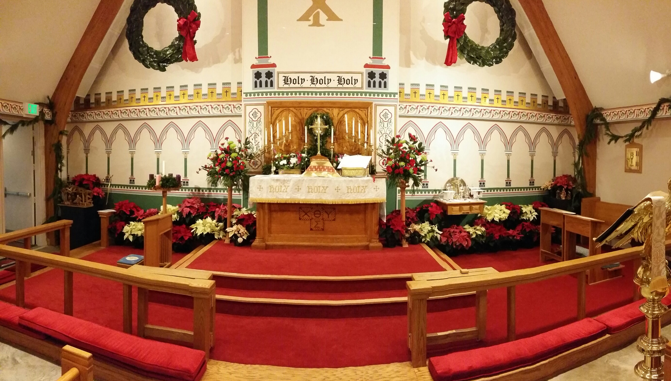 Chancel On Christmas Eve