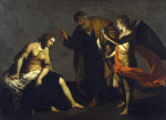 Alessandro Turchi: Saint Agatha Attended by Saint Peter and an Angel in Prison