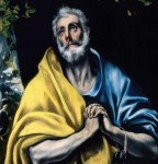 El Greco Las lágrimas de San Pedro