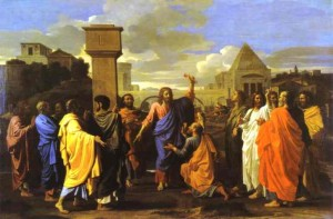 Ordination by Nicolas Poussin-2