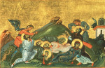 Martyrdom of Perpetua, Felicitas, Revocatus, Saturninus, and Secundulus (Menologion of Basil II)