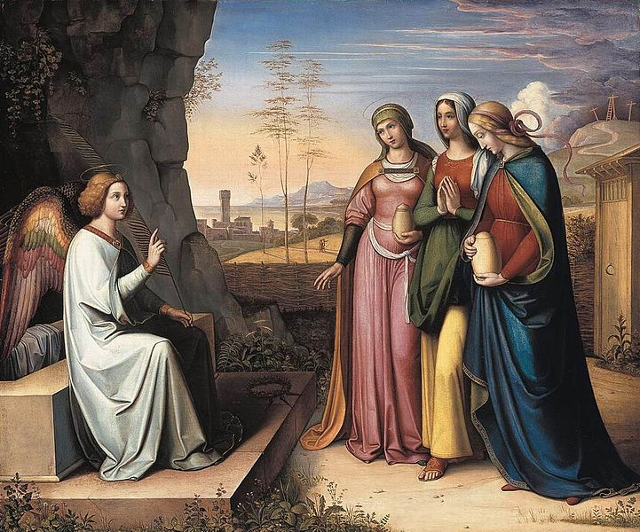 Peter von Cornelius The Three Marys at the Tomb