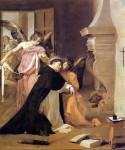 Saint Thomas Aquinas by Diego Velázquez