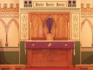 Altar in Lent