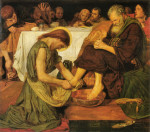 Jesus washing Peter's feet by Ford Madox Brown