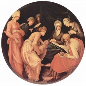 Jacopo Pontormo Nativity of John the Baptist