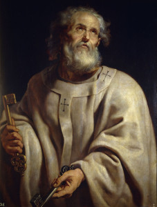 St Peter by Peter Paul Rubens