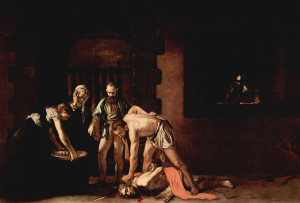 Caravaggio Beheading of John the Baptist