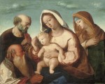 Holy Family with Joachim and Anna