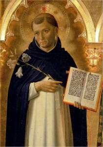 The Perugia Altarpiece, Side Panel Depicting St Dominic