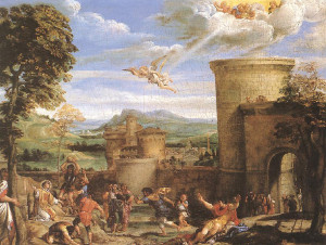 martyrdom of st stephen by carracci