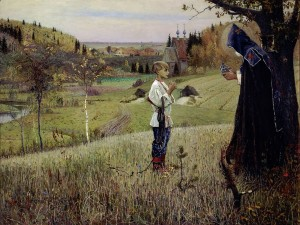 Vision to the Youth Bartholomew by Mikhail Nesterov