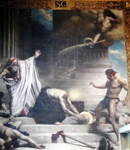 The Martyrdom of St Denys
