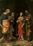 St Peter, St Martha, St Mary Magdalene, St Leonard (L–R)