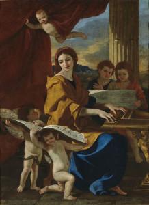 Nicolas Poussin St Cecilia