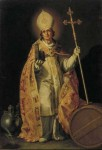 Saint Willibrord after Abraham Bloemaert