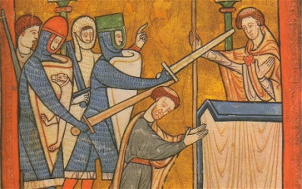 the death of thomas beckett Discover librarian-selected research resources on thomas becket from the  questia online  saint thomas à becket, or saint thomas becket, 1118–70,  english martyr,  of church authority and sacred place: the murder of thomas  becket.
