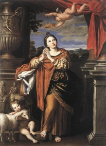 Saint Agnes Domenichino