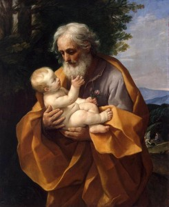 Guido Reni St Joseph with the Infant Jesus