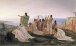 Pythagoreans celebrate sunrise