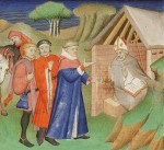 St. Alphege, Archbishop of Canterbury, is asked for advice