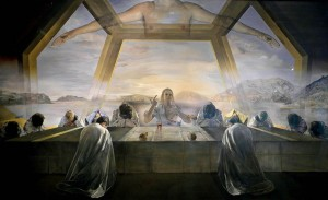 The Sacrament of the Last Supper, 1955