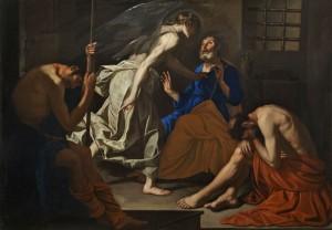 Antonio de Bellis La liberazione di San Pietro