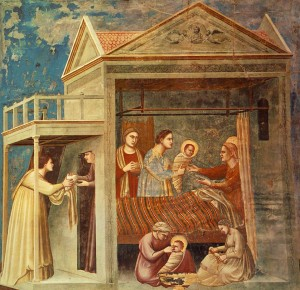 Giotto The Birth of the Virgin
