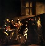 The Calling of Saint Matthew by Caravaggo