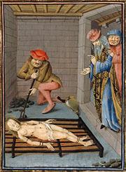 Martyrdom of St Faith