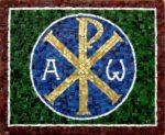 Chi Rho mosaic