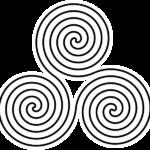 Triple Spiral Symbol