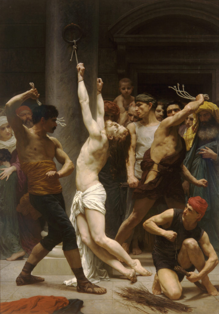 Bouguereau The Flagellation of Our Lord Jesus Christ