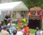 Punch and Judy at 2014 Garden Party