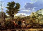 Nicolas Poussin Autumn or The Spies with the Grapes of the Promised Land