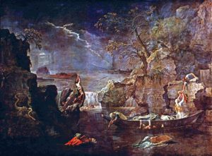Nicolas Poussin Winter or The Deluge