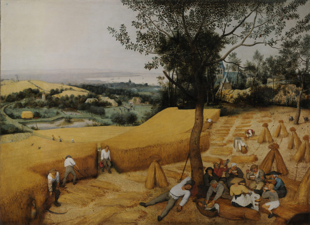 Pieter Bruegel the Elder The Harvesters