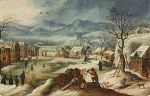Sebastiaan Vrancx (studio) Winter