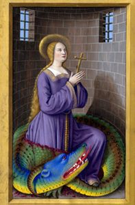 st margaret and the dragon