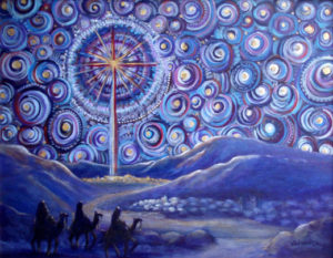Advent Starry Night